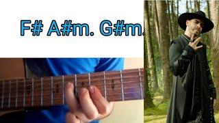 Wolfine   Le Pido A Dios  TutorialTabsTablaturaAcordesCover Guitarra