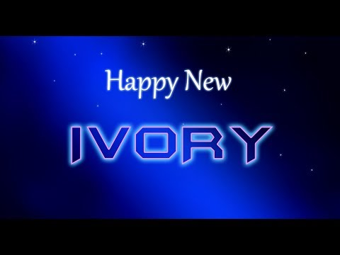 HAPPY NEW IVORY