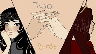 Two Birds    OC Animatic (Colored)