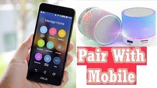 How To Connect Bluetooth Speaker To Mobile Phone Bluetooth Speaker Ko Mobile Se Pair Kaise Kare
