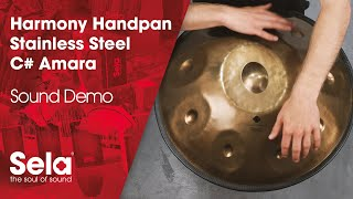 Handpan C# Amara Stainless Steel