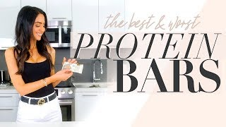 How To Choose A Good Protein Bar - Best And Worst Protein Bars   Dr Mona Vand