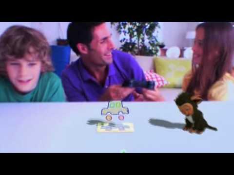 Видео № 0 из игры PS Move: Starter Pack (Камера PS Eye + Контроллер движений PS Move + игра EyePets и Друзья)