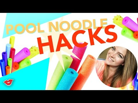 Pool Noodle Hacks! | Tay from Millennial Moms