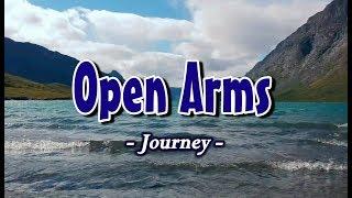 Open Arms - Journey (KARAOKE)
