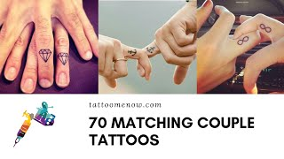 70 Cute Matching Couple Tattoos (2019)