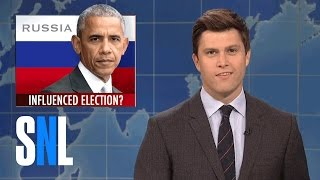 Weekend Update on Russia Interfering with the Election - SNL