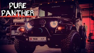 MODIFIED THAR WITH (AUTOMATIC SUNROOF) AND MANY ATTRACTIVE MODIFICATION..(PURE PANTHER)