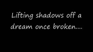 Lifting Shadows Off A Dream Dream Theater (lyrics)