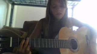 Ecoute  dans le vent - guitare cover