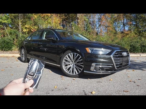 2019 Audi A8 L 3.0T Sedan: Start Up, Walkaround And Review