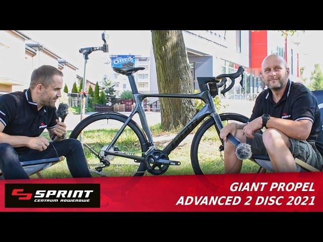Видео Велосипед Giant Propel Advanced 2 Disc (Metallic Black/Black/Reflective Black)