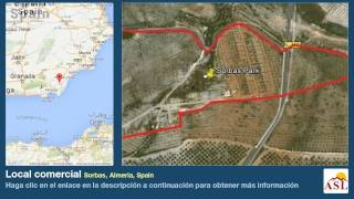 preview picture of video 'Local comercial se Vende en Sorbas, Almeria, Spain'