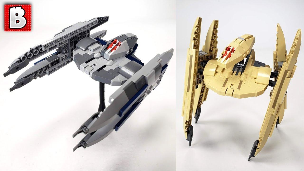 LEGO Vulture Droid Custom Build!
