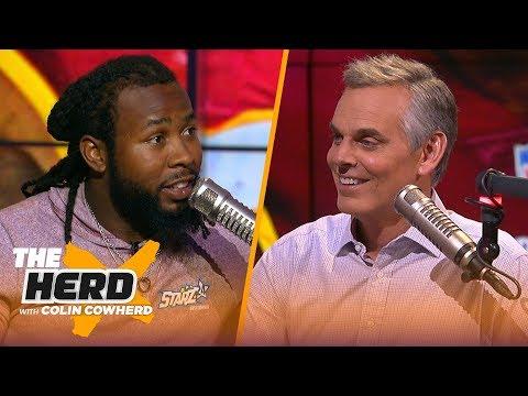 Josh Norman talks Aaron Rodgers' greatness, Dwayne Haskins & running with the bulls | NFL | THE HERD