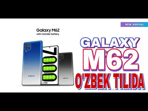 GALAXY M62 TAQDIM ETILDI // REDMI K40  RAQIBI REALMI GT HAM TAYYOR !!!