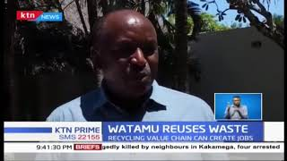 Watamu stakeholders focus on reusing plastic wastes