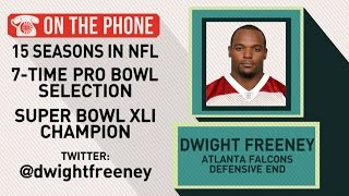 Gottlieb: Dwight Freeney talks Falcons and Packers