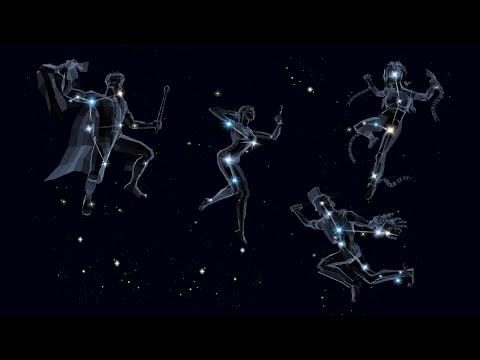 Легенды Космоса. Созвездия Кассиопея, Цефей, Андромеда и Персей