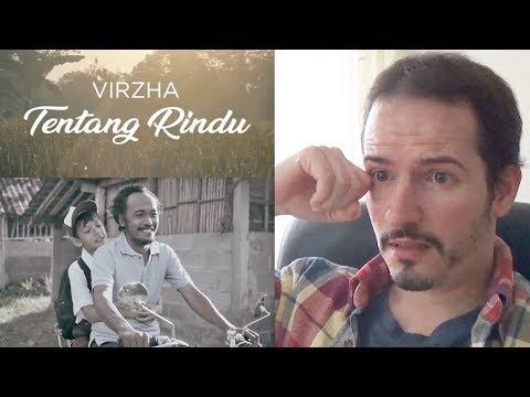 VIRZHA - TENTANG RINDU • ABOUT RINDU Official Music Video REACTION + REVIEW
