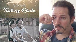 VIRZHA   TENTANG RINDU • ABOUT RINDU Official Music Video REACTION + REVIEW