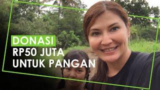 Donasikan Rp50 Juta untuk Pangan, Tamara Bleszynski: Sebesar Apapun Nominalnya Sangat Amat Berarti