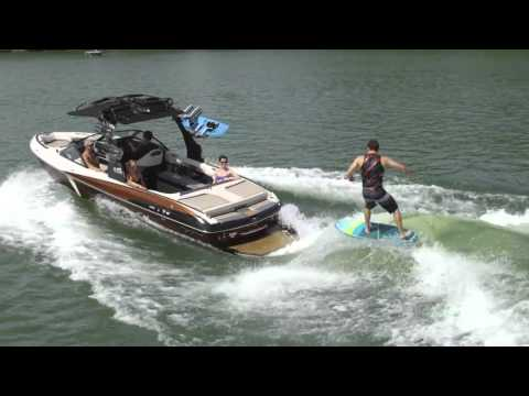 Malibu 25 LSV Surf Review Wakeboarding