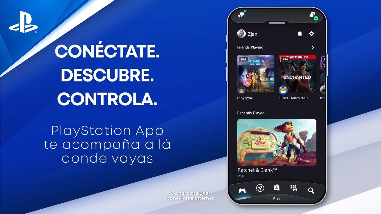 Presentamos la nueva PlayStation App, rediseñada para potenciar tus experiencias de juego en PS4 y PS5