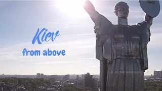 preview picture of video 'Kiev from above, September 2014'
