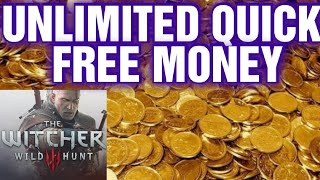 THE WITCHER 3 INFINITE MONEY GUIDE 2020 !!