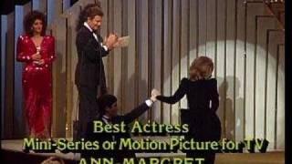 Ann-Margret Wins Best Actress Mini Series - Golden Globes 1984