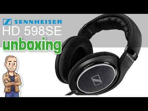 Sennheiser HD 598 SE Unboxing - Special Edition Black