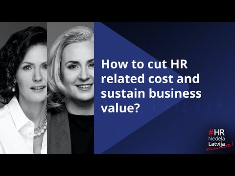 How to cut HR related cost and sustain business value?