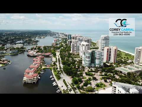 Beautiful Park Shore Real Estate Flyover and Identification in Naples, Florida