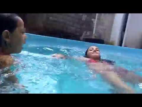 Desafio da piscina  VIDEO HOT