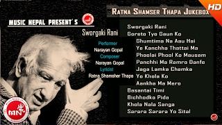 Ratna Shamsher Thapa - Audio Jukebox