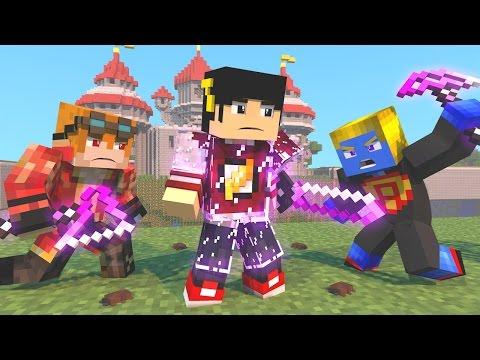 Minecraft Mod: PROTEGIDO POR VIDRO - DEFENSE LUCKY BLOCK ‹ AM3NIC ›