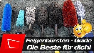Die beste Felgenbürste für dich! Felgenbürsten - Finde die Beste für deine Felgen! Felgen reinigen