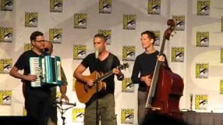 "Video thumbnail of ""Comic-Con 2010: Barenaked Ladies sing The Big Bang Theory theme"""