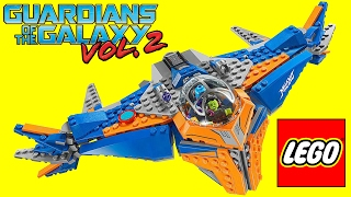 BrickQueen LEGO Guardians Of The Galaxy 2 The Milano VS Abilisk 76081 Marvel Speed Build + Review