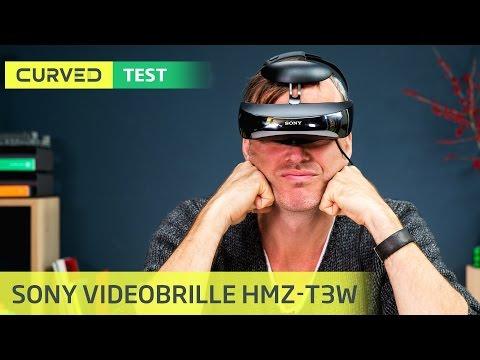 HMZ-T3W: Die Videobrille von Sony im Test   deutsch