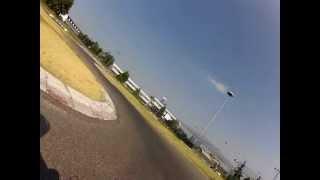 preview picture of video '01 Rozzano pit bike 4 agosto 2012, sessione di prove libere, onboard'