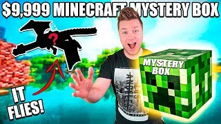 THE RAREST TOY IN THE WORLD! $10,000 Minecraft Ebay Mystery Box Toy