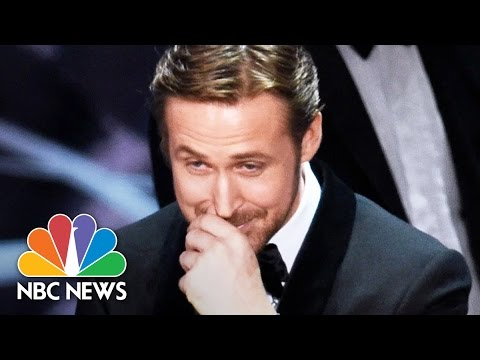 'La La Land' Over 'Moonlight' Oscars Screwup: A Picture Is Worth 1000 Words | NBC News