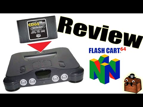 ED64 Plus Enhanced Flash Cart 2016 Review Nintendo 64