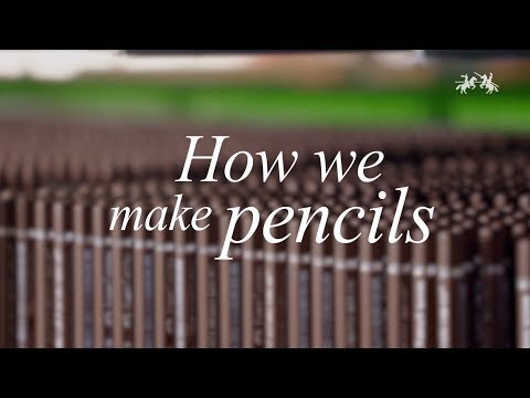 How pencils are made. A lot more complicated than I thought it would be!