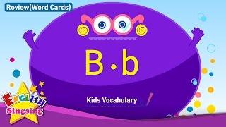 Kids từ vựng biên soạn - Words bắt đầu với B, b 2