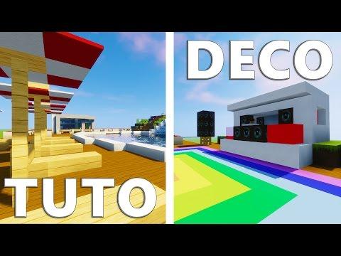 TUTO CHAMBRE DE GARCON ULTRA RÉALISTE ! | Minecraft | | Tutotube.fr ...