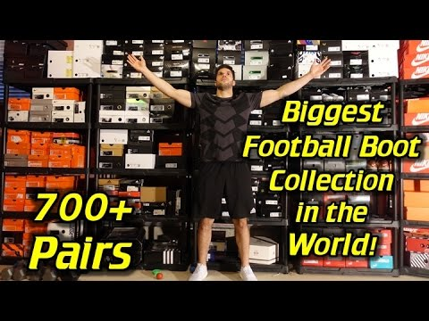 Biggest Football Boots/Soccer Cleats Collection in the World! (Over 700 Pairs!)