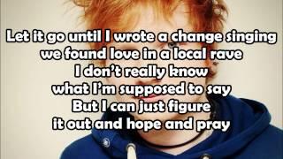 Ed Sheeran - Sing [Lyrics On Screen] 1080p HD